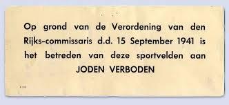 Verzetsmuseum | SEIZOEN '40-'45. Voetbal tijdens de Tweede ...